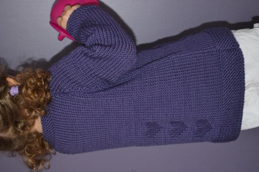 modele tricot 4 ans fille