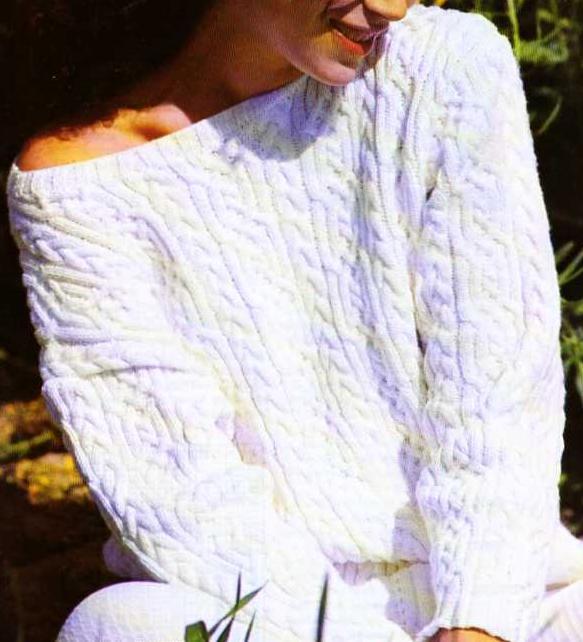 modèle tricot jupe torsade