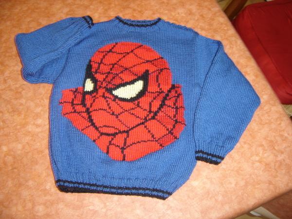 Illustration mod le tricot spiderman gratuit - Spider man gratuit ...