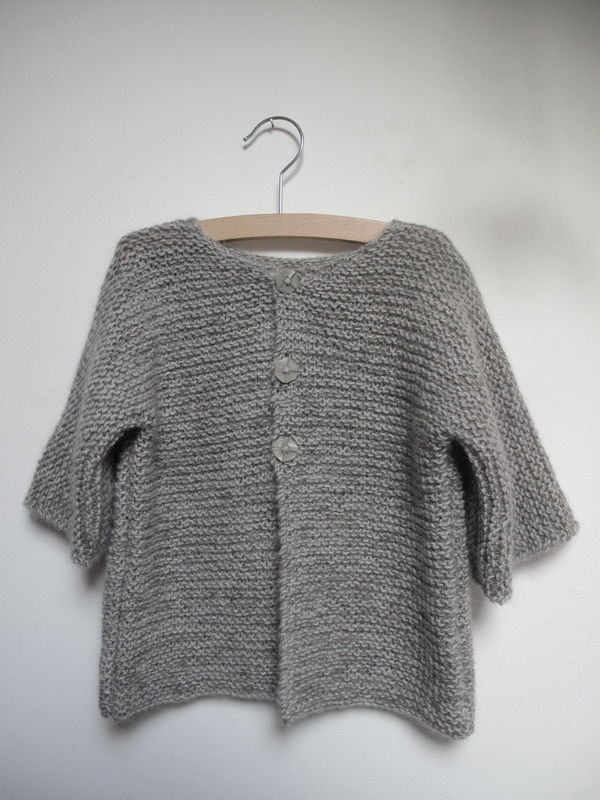 modèle tricot veste femme aiguille 5