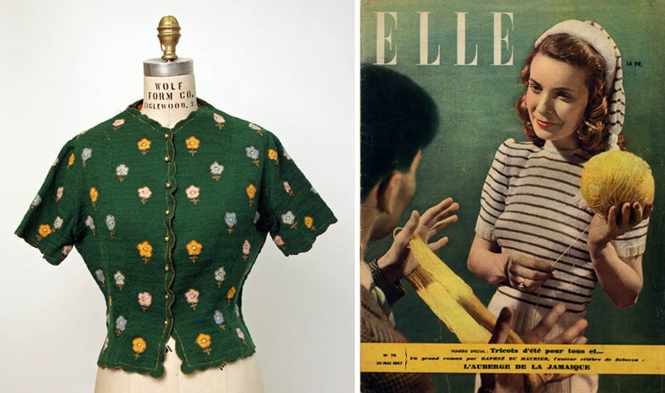 modèle tricot 1940