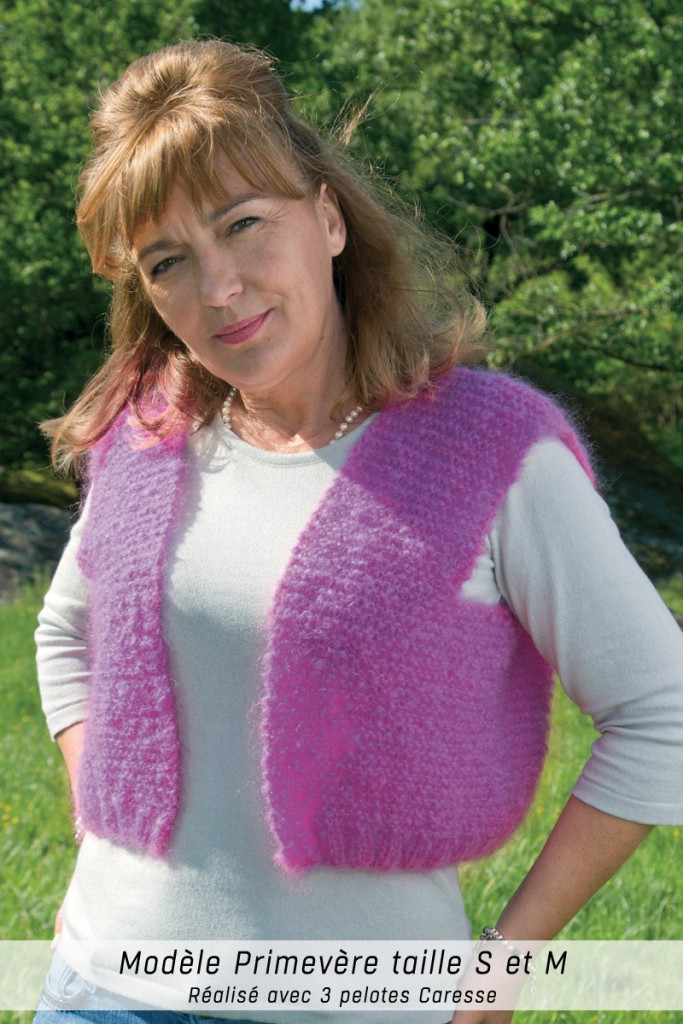 modèle tricot avec une pelote