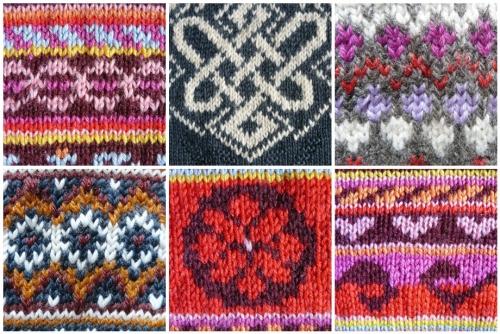 modele de tricot jacquard gratuit
