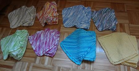 tricoter un linge de table