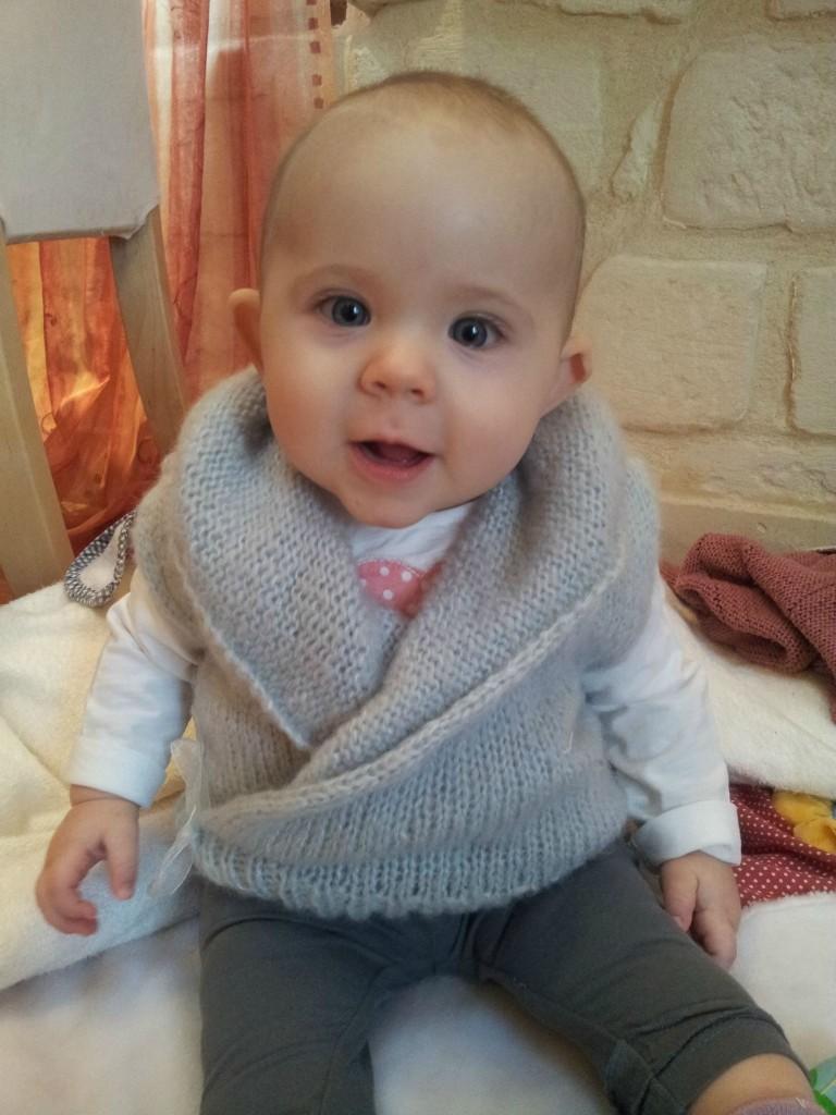 modèle tricot bébé hiver