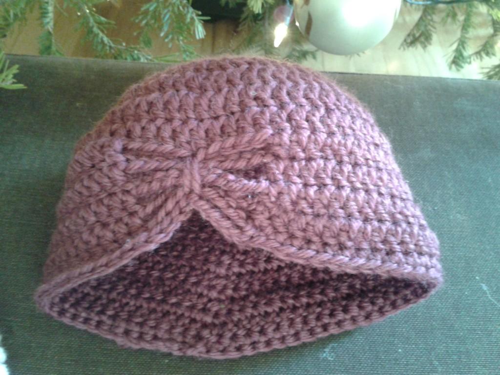 modèle tricot bonnet pour bébé