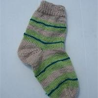 Aper u mod le tricot chaussette aiguille circulaire - Modele tricot aiguille circulaire ...