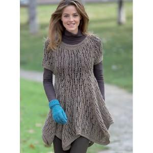 tricoter une tunique femme