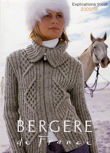modele de tricot bergere de france