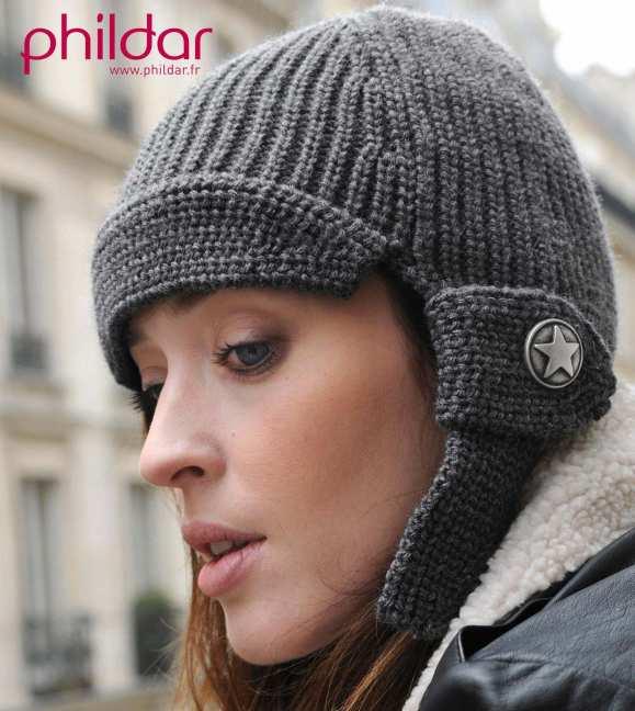 apparence modèle tricot bonnet gratuit phildar ... 7376eb6cd9b