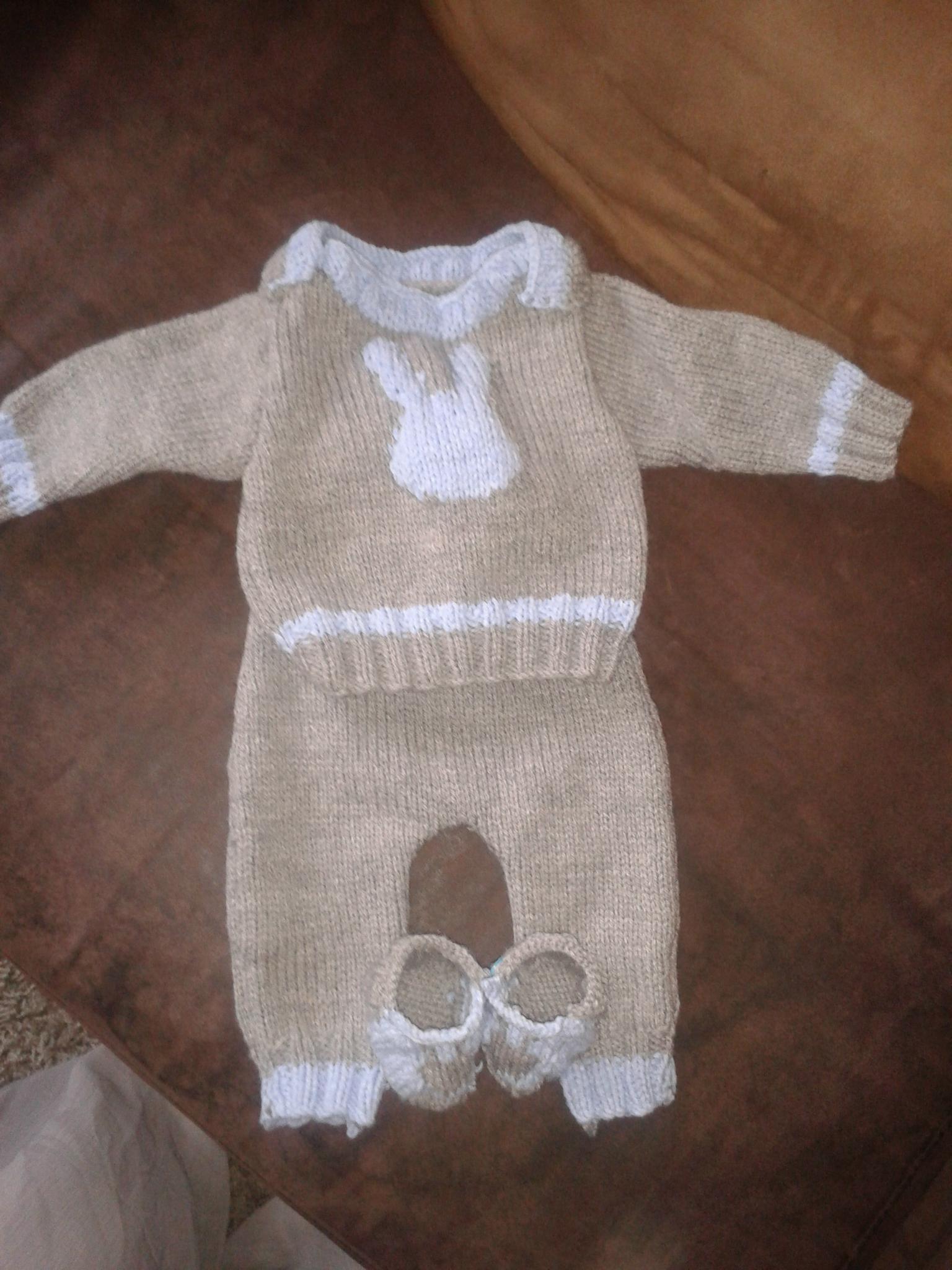 patron tricot ensemble bebe