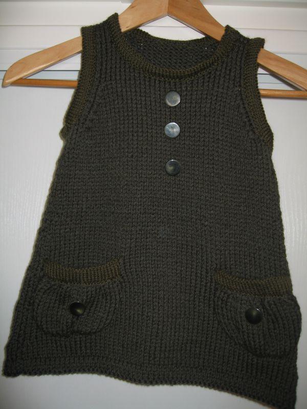 modèle tricot robe 10 ans