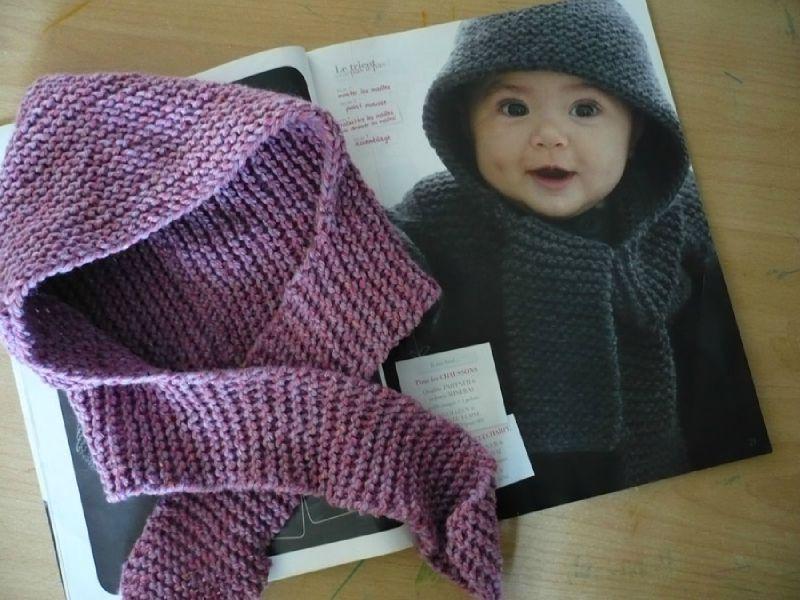e683434c0d74 modèle tricot bonnet echarpe