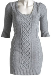 modèle tricot robe pull fille