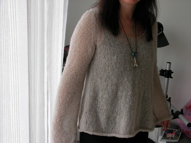 Mohair et Laine : pour tricoter ou pour porter, produits sains et respectueux