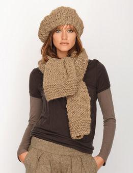 modèle bonnet tricot bergere de france