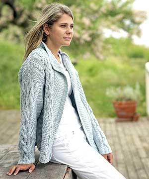 veste a tricoter modele gratuit