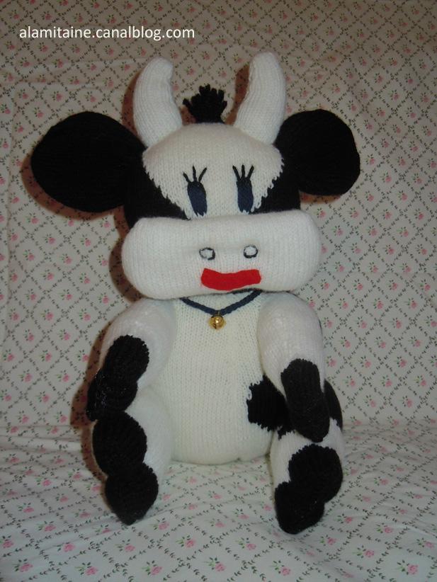 Mod le tricoter une vache - Animaux en tricot facile ...