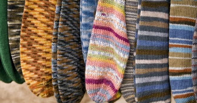modele tricot chaussettes 2 aiguilles