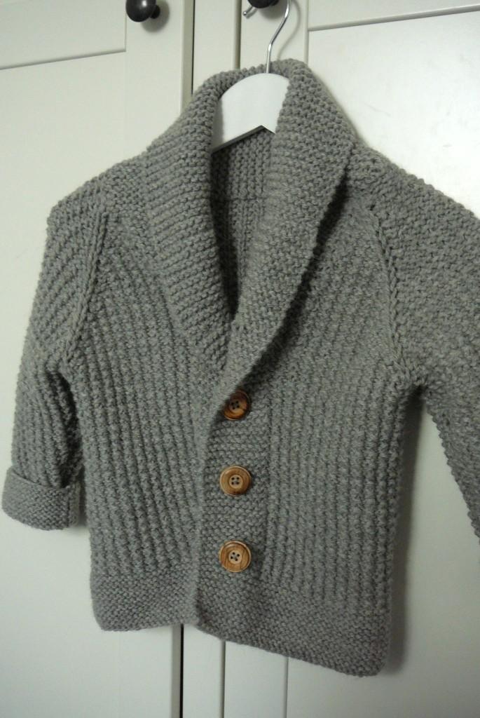 modèle veste tricot aiguille 10