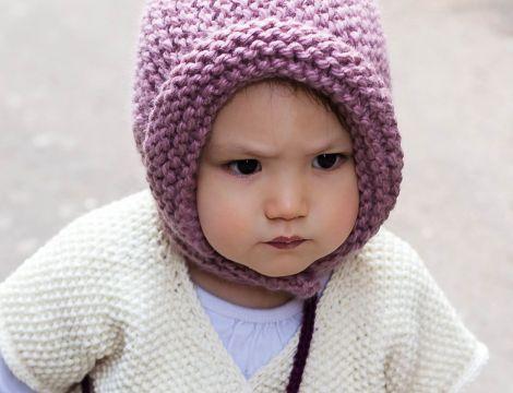 explication modèle tricot bonnet bébé fille ... dd680f39639