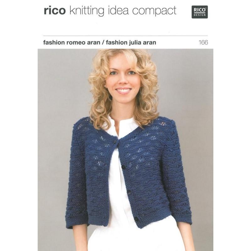 modèle tricot veste courte femme