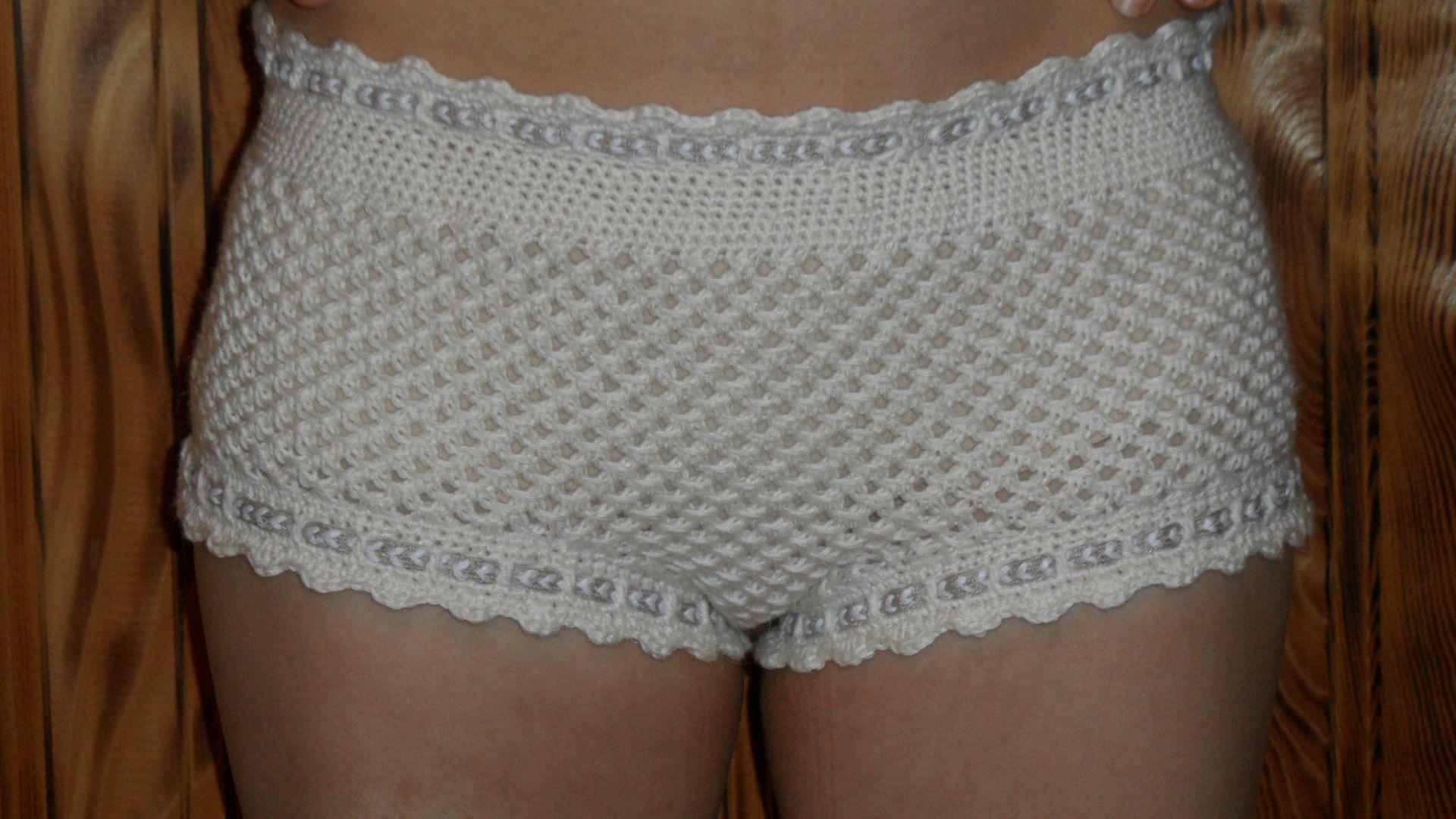 patron tricot short