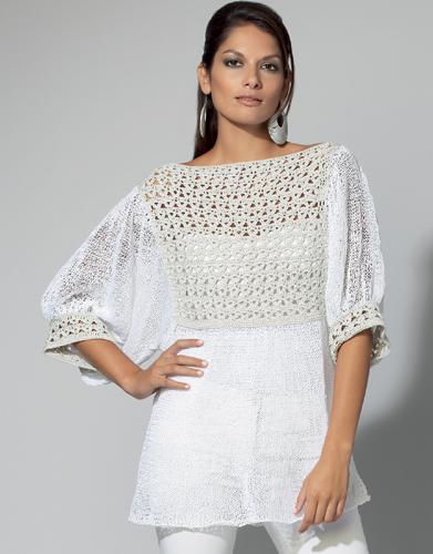 modele tricot femme ete