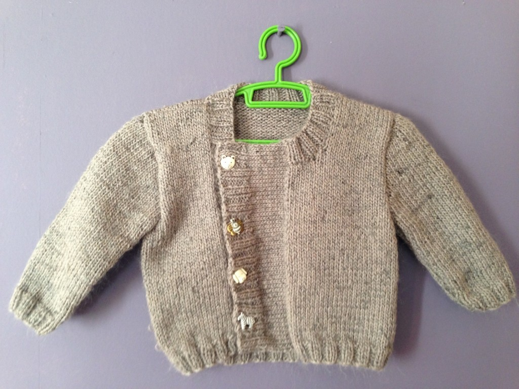 modèle tricot gilet bébé 3 mois