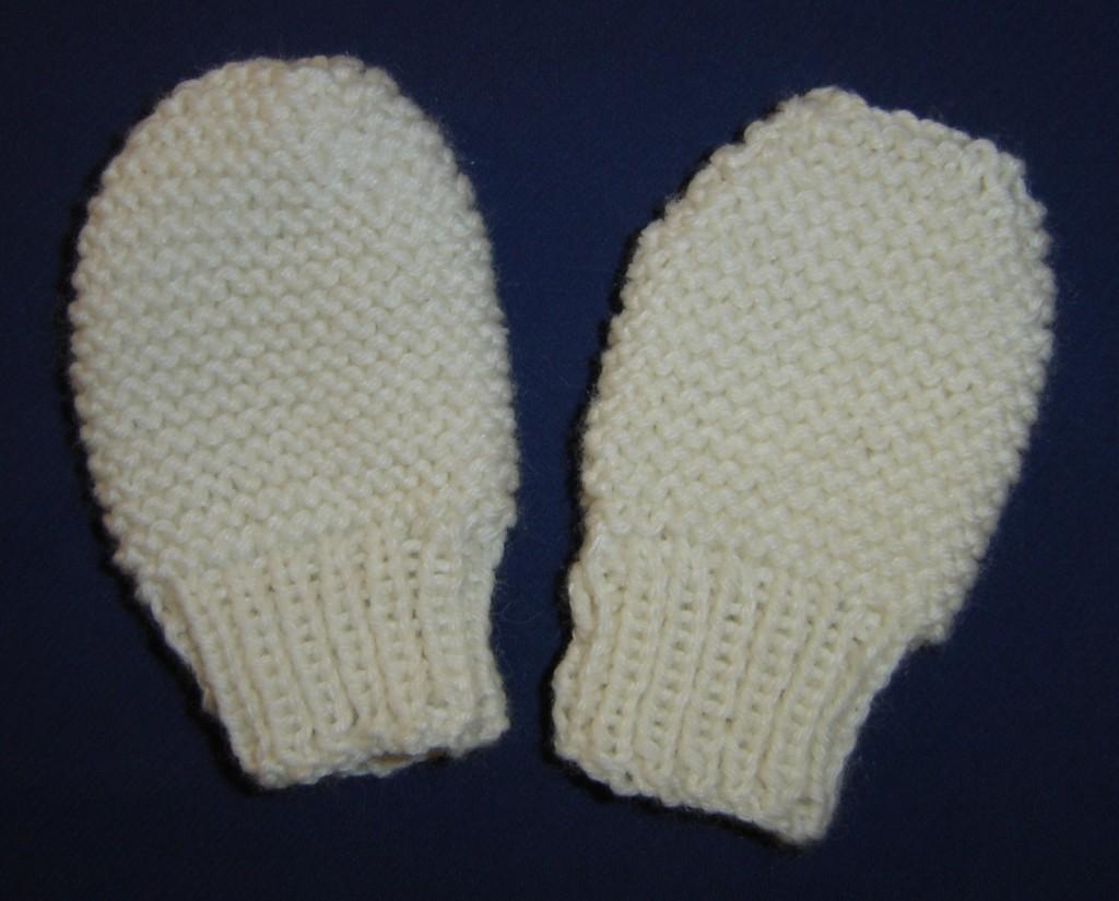 modèle tricot moufle 3 ans