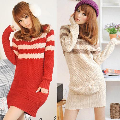 modèle tricot gratuit robe pull