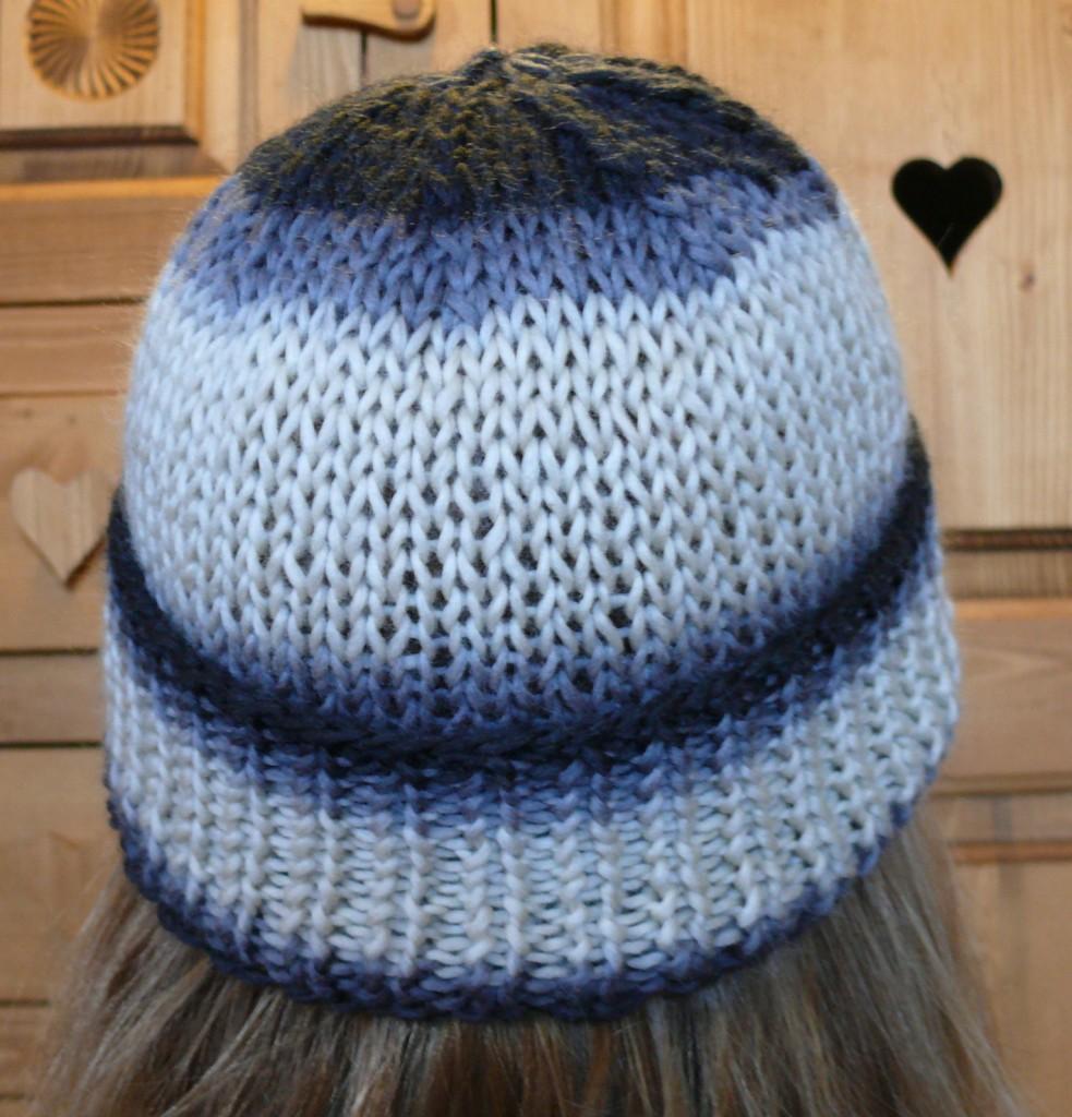 patron bonnet tricot machine