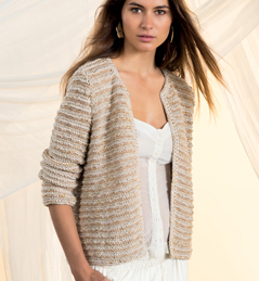 modele tricot gilet fille