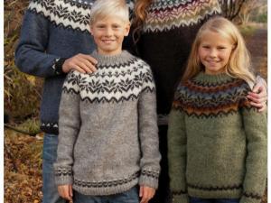 modèle tricot gratuit pull islandais