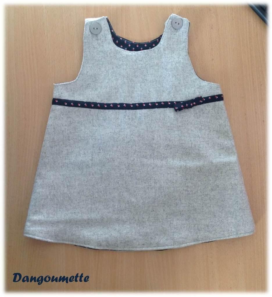 patron robe bébé 3 mois tricot