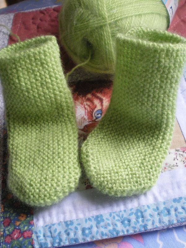 modèle chaussette tricot 2 aiguilles