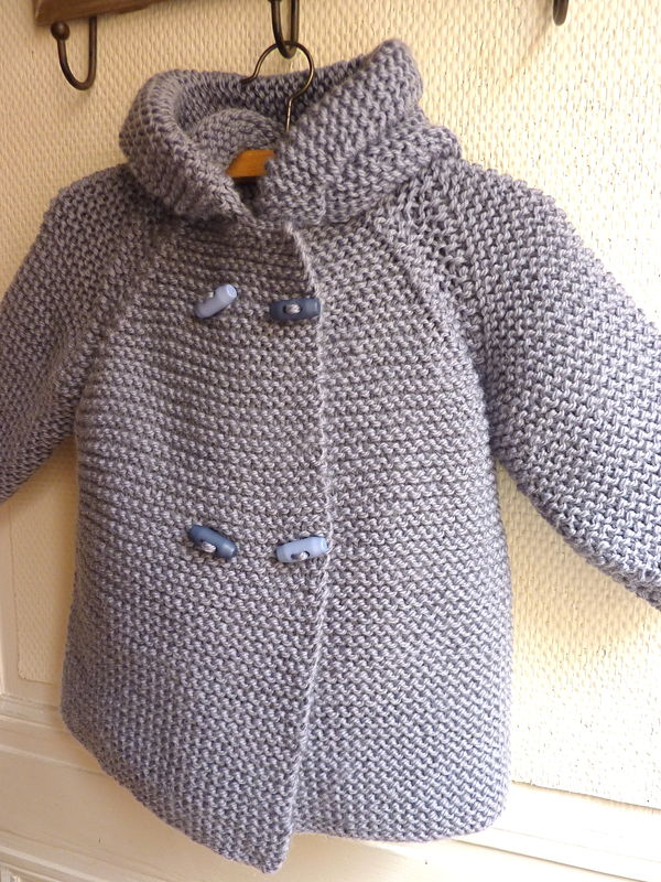 modele tricot bebe hiver