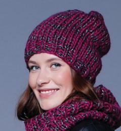 imprimer mod le tricot bonnet echarpe femme. Black Bedroom Furniture Sets. Home Design Ideas