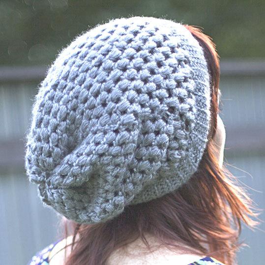 patron tricot crochet tuque