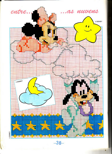modèle tricot bébé disney