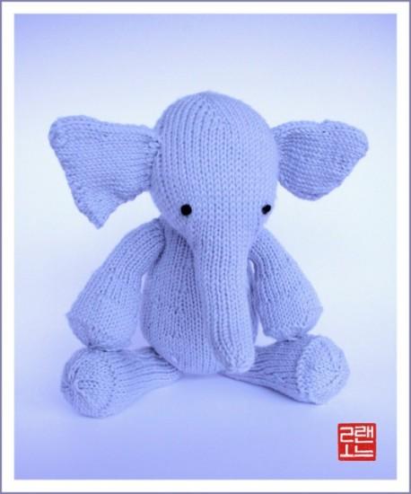 Poupées Tilda : l'éléphant Prima