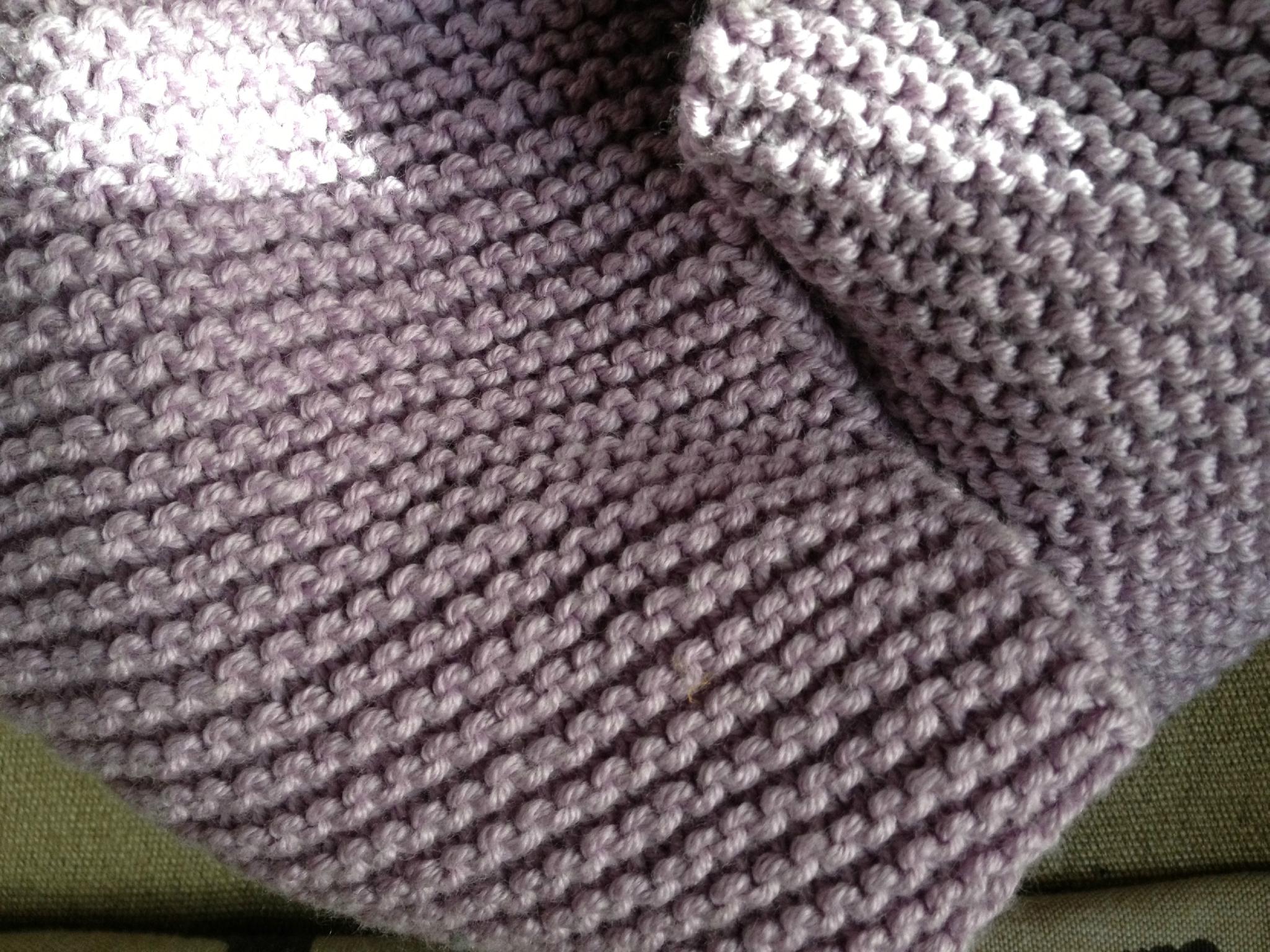 Mod le tricot echarpe homme point mousse - Modele de point au tricot ...