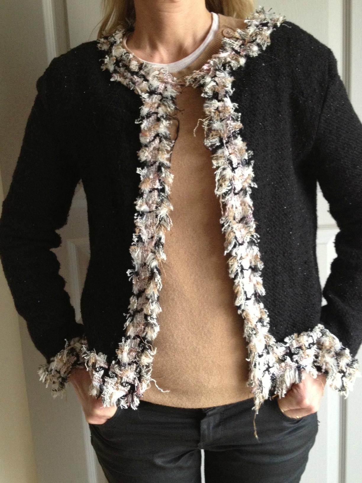 Veste à tricoter T. 42 44  Ma Boutique Modes & Travaux