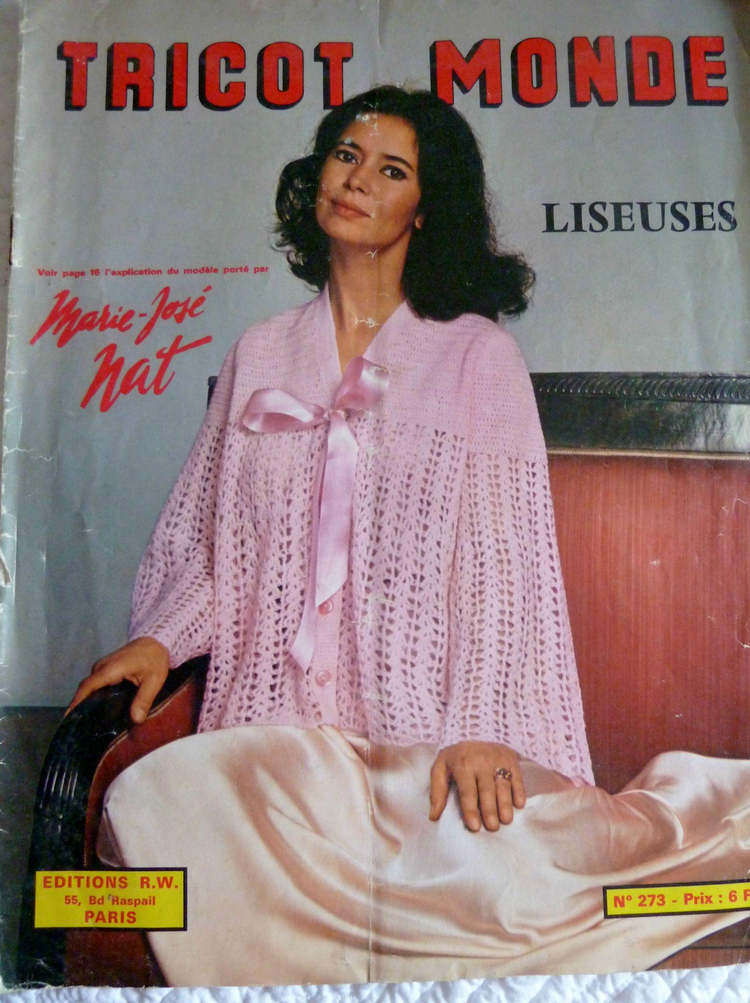 modele tricot liseuse femme