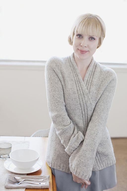 modele gilet tricot aiguille 5