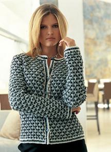 veste tricotee