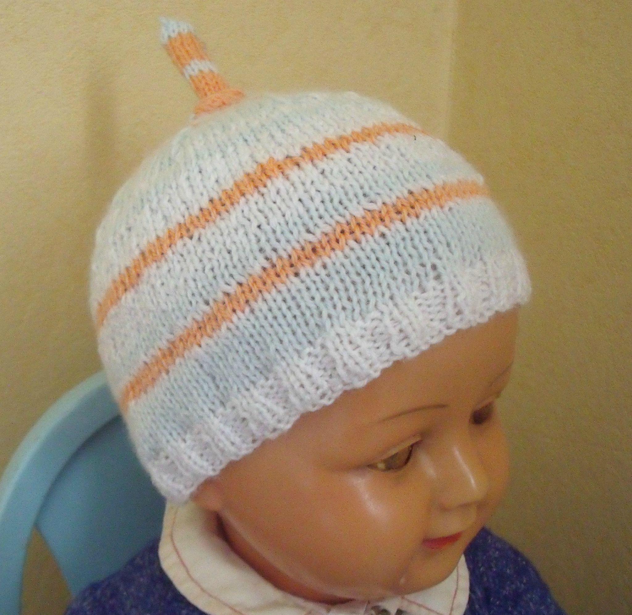 f36575384b9 apparence modèle tricot bonnet 12 mois ...