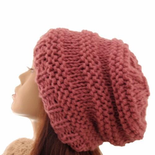 mod232le tricot bonnet ado