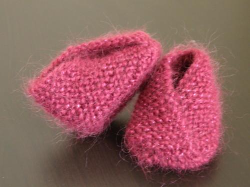 modèle tricot chausson pour bébé