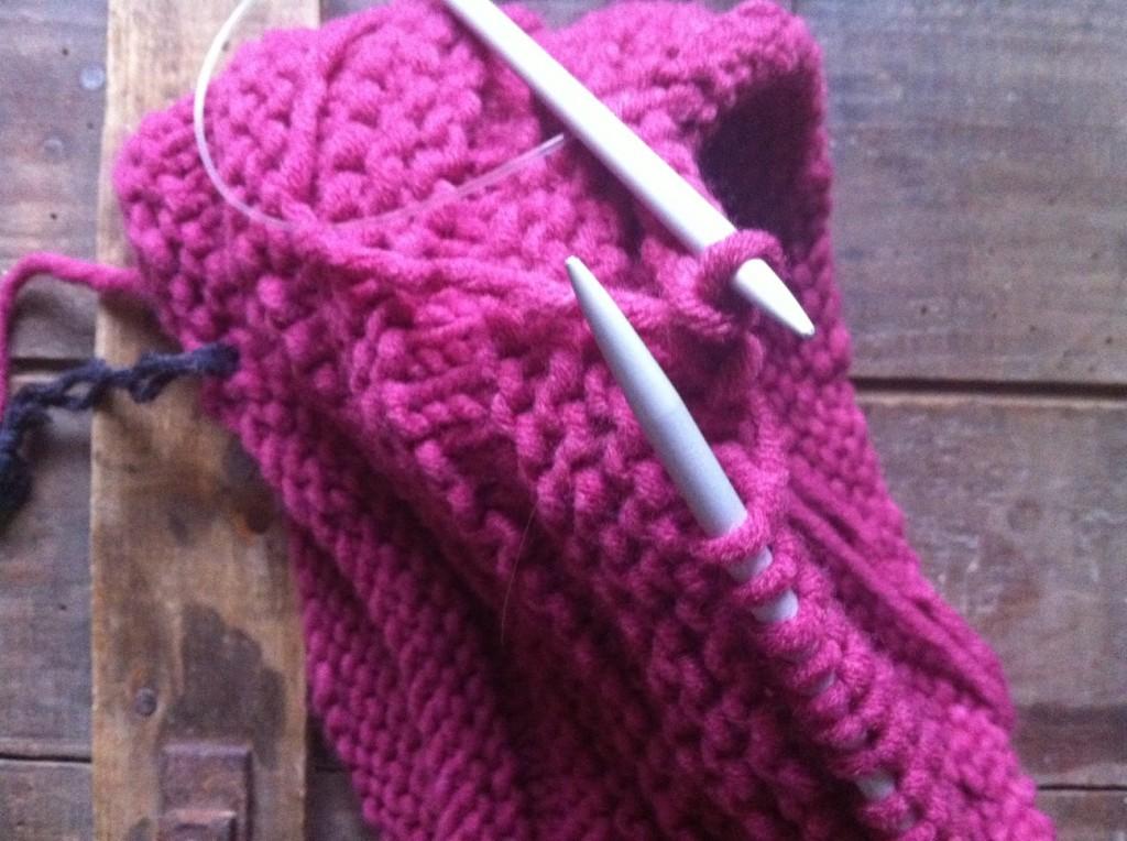 modèle tricot aiguilles circulaires